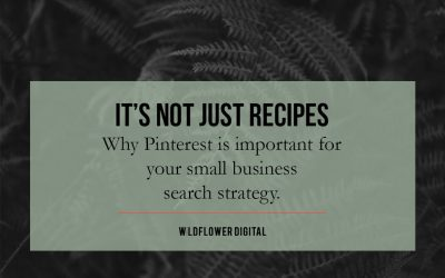 Why Pinterest is important for your small business search strategy